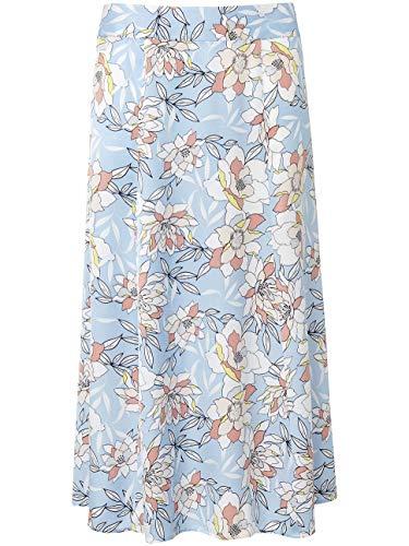 BASLER Damen Rock in A-Linie mit floralem Muster