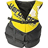 Hardcore Water Sports Adult Life Jacket Vest - US Coast Guard Approved Type 3 (Yellow Adult Universal)