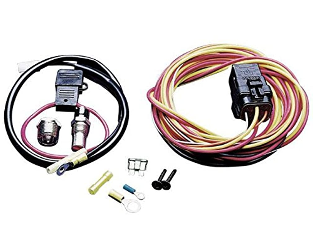 Spal 195FH Thermo-Switch Relay and Harness