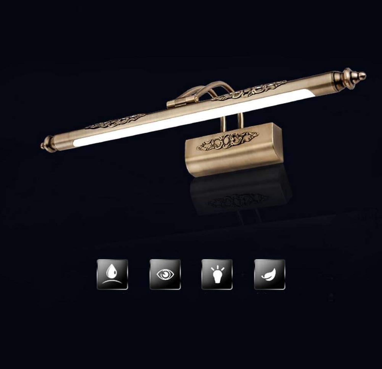 LED-Spiegel-Lichter, Badezimmer-Acrylaugen-Sorgfalt-Spiegel-Wandlampe, wasserdichter und Anti-Nebel Spiegel-Frontlicht-Lampe, Wand-Licht YDYG (Farbe   Warmes Licht-48cm)