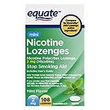 Equate Mini Nicotine Lozenge Mint 2mg 108ct, Compare to Nicorette Mini Lozenge (1-pk)