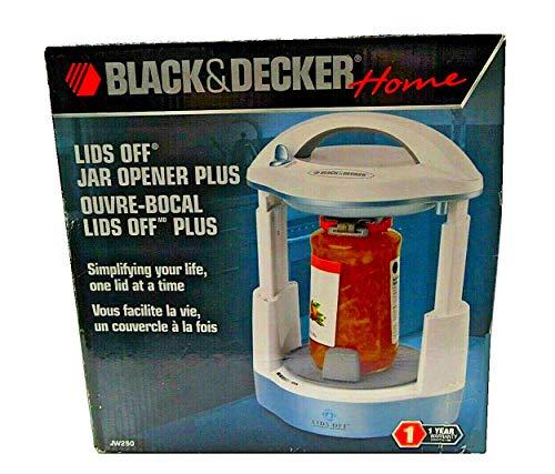 Black and Decker White and Cyan Jar Opener Model JW250