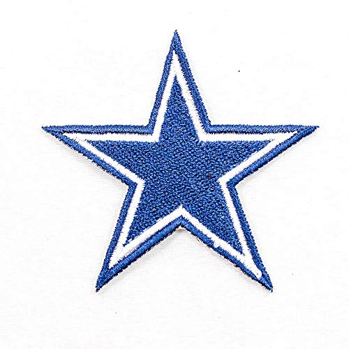 NFL * Amercian Football Team * Dallas Cowboys * Star Stern Logo EMBROIDERED PATCH Badge Aufnäher Bügelbild