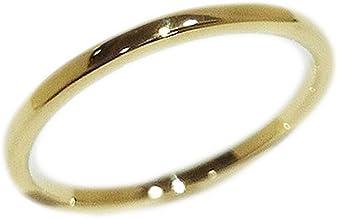 K18 YG 18金イエローゴールド WG 18金ホワイトゴールド PG 18金ピンクゴールド 職人 手作り リング オーダー 刻印サービス ギフトラッピング 結婚指輪 マリッジリング (イエローゴールド, 9.5)
