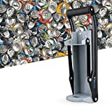 Fdit 16 oz metallo lattina frantoio smasher a parete smasher schiaccia lattine di soda lattine di birra e bottiglie per il riciclaggio