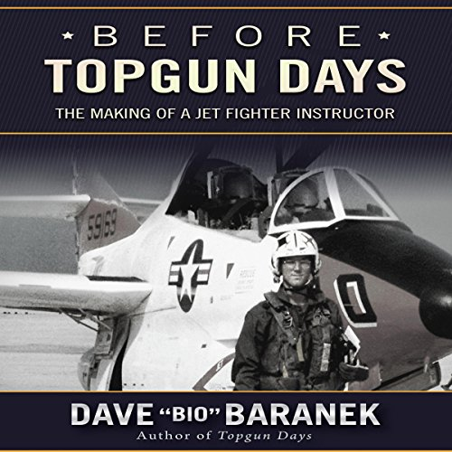Before Topgun Days audiobook cover art