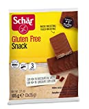Dr. Schar Snack Barquillo Chocolate - Paquete de 3 x 35 gr - Total: 105 gr