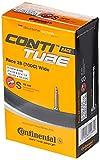 Continental 42mm Presta Valve Tube, Black, 700 x 25-32cc (Race 28)