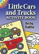 كتاب أنشطة القليل من السيارات والشاحنات كتب نشاط Dover (صغير)