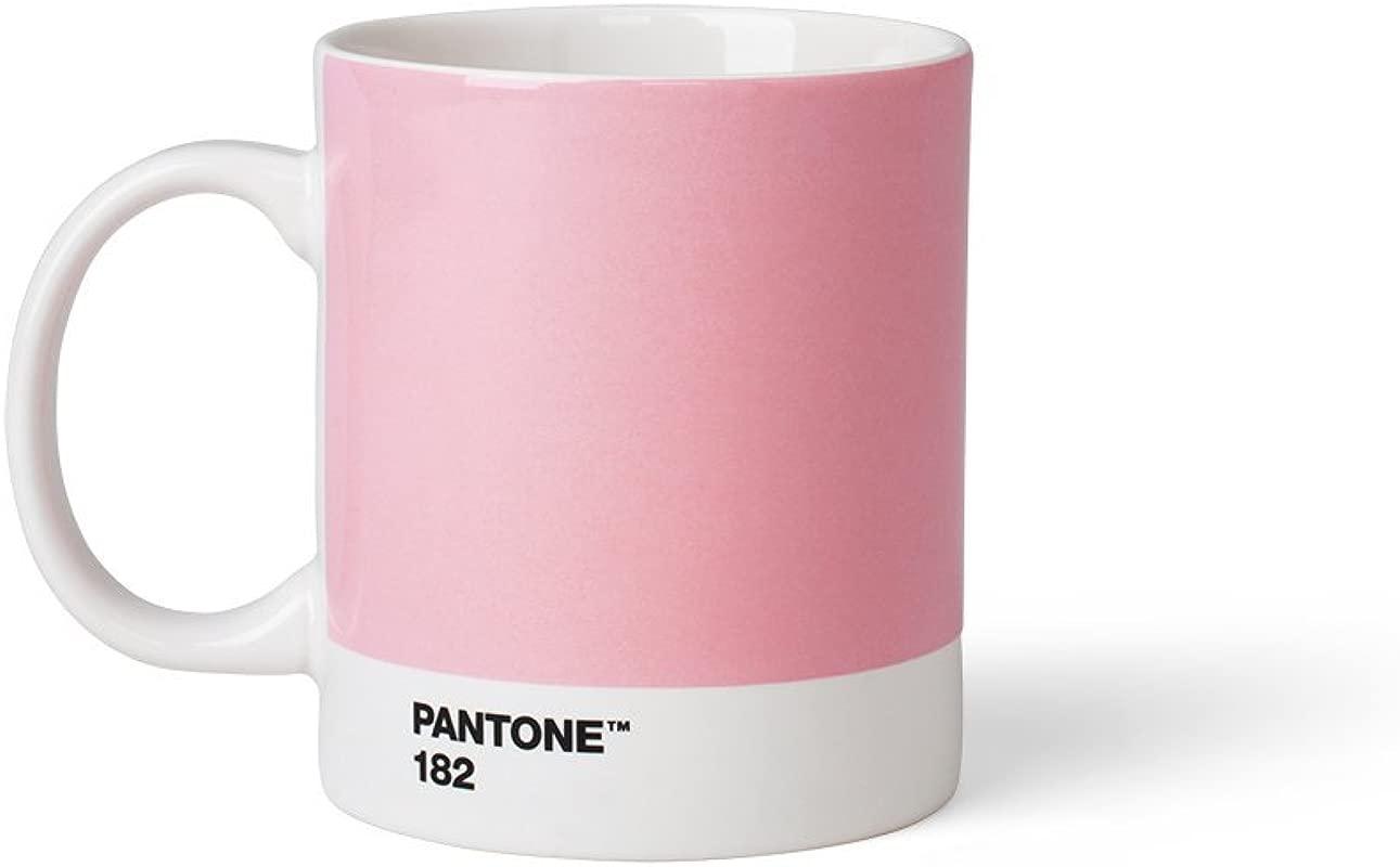Pantone Porcelain Mugs 375 Ml Porcelain Light Pink 182 8 4 X 8 4 X 12 1 Cm 101030182
