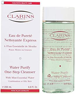 Clarins Water Purify One Step Cleanser w/Mint Essential Water - Combination or Oily Skin, 200 ml