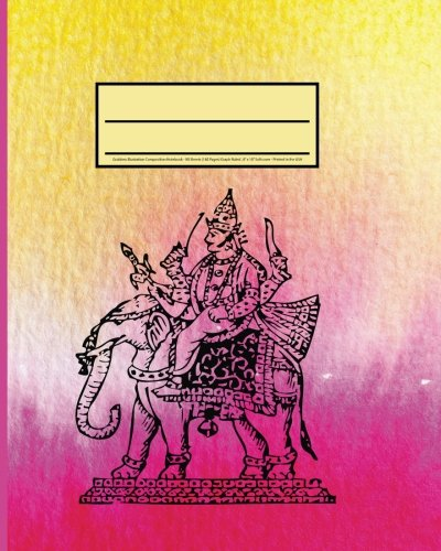 """Goddess Illustration Composition Notebook: - Quad Ruled 4 x 4 Journal, Diary- 80 Sheets (160 Pages) Graph Ruled , 8"""" x 10"""" Softcover - Printed in the USA"""