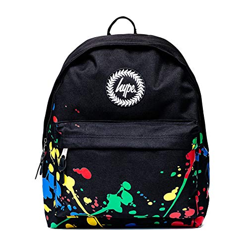 HYPE Black Paint Splatter Backpack
