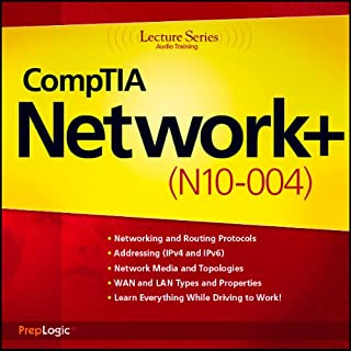 CompTIA Network+ (N10-004) Lecture Series audiobook cover art