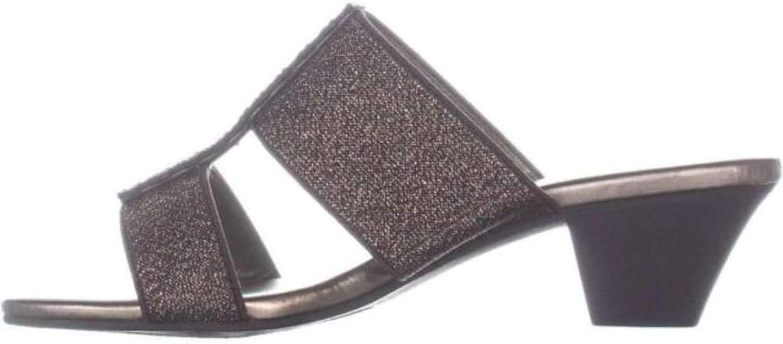 Karen Scott Womens Zaila Open Toe Casual Slide Sandals