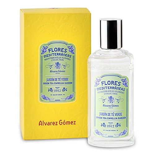 Flores Mediterraneas de Álvarez Gomez - Fragancia Jardin de Te Verde - 80ml