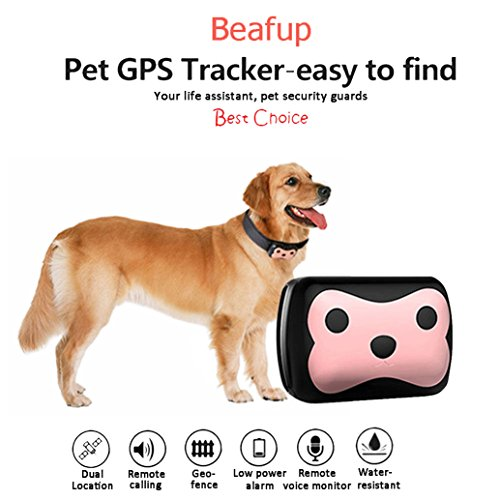 Beafup Pet GPS Collar Tracker