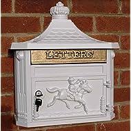Post Box Victorian Mounted Aluminium