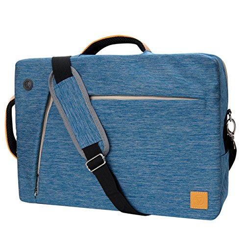12-12.9 Inch Business Travel Briefcase Water Resistant Multi-Purpose Laptop Bag Messenger Shoulder Bag Hybrid Backpack for Men & Women, Work Travel School Case Bag