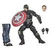 Marvel Legends Series Gamerverse Figura de acción Coleccionable Stealth Capitán América de 15,24 cm,...