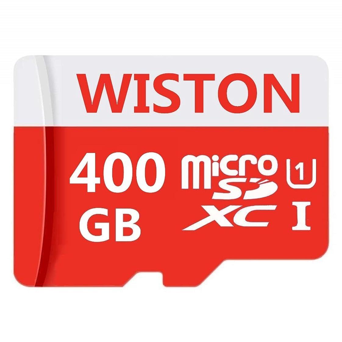 お母さんヘクタールウミウシWISTON 400GB Micro SD SDXCカード 高速クラス10 SDメモリーカード SDアダプター付き