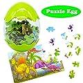 Jofan Dinosaur Jigsaw Puzzle Easter Eggs for Kids Boys Girls Easter Basket Stuffers Gifts
