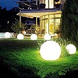 KTLSHY LED Solar-Birnen-Lampen Energie wasserdichte Outdoor-Garten-Licht-Straße Sonnenkollektor Kugelleuchten Lawn Yard Landschaft Dekorative Powered