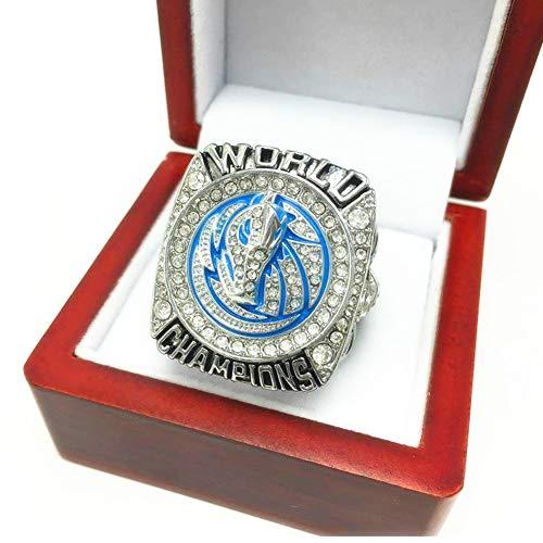TYTY NBA 2011 Championship Ring Anillos de Hombre, Championship Anillo de réplica Personalizado Anillos de Diamantes para Hombres,Without Box,11