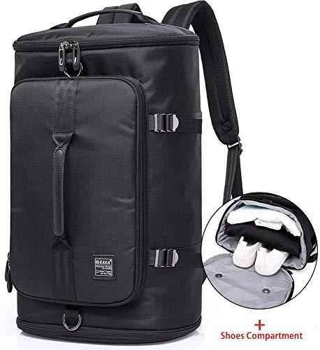 KAKA Travel Duffel Backpack, Outdoor Travel Bag with Shoe Compartment, Laptop Bookbag Weekender...