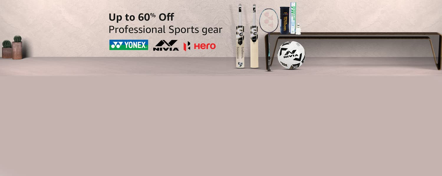 Amazon Offers Today-Coupons-Promo Codes - Up To 60% OFF on Sports Gear
