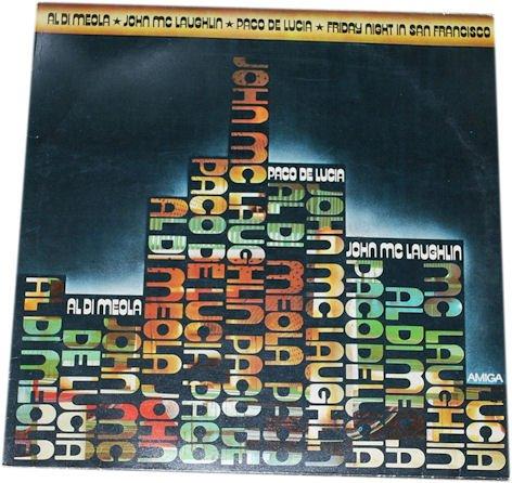 Al Di Meola/ John McLaughlin, Paco De Lucia: Friday Night in San Francisco. (Schallplatte/ LP/ Album/ VINYL)