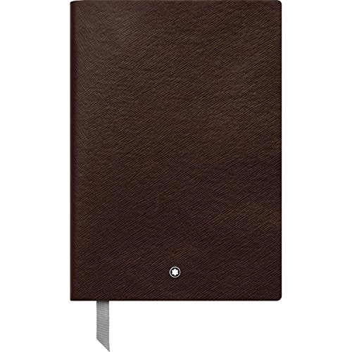 Montblanc 113590 - Blocco Note #146 cancelleria di lusso – Diario – Quaderno, fogli a righe, 150 x 210 mm, 192 pagine, copertina marrone tabacco