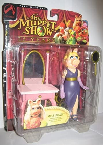 Palisades Muppets Series 1 Miss Piggy Action Figure by Palisades Toys