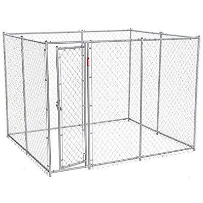 Lucky Dog Chain Link Boxed Kennel