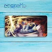 COSPATIO 大判マウスパッド Fate/Grand Order フェイト グランド オーダー FGO セイバー Saber アルトリア・ペンドラゴン シリアス 周辺機器 マウス マウスパッドキーボードパッド漫画 のキャラクター (800 * 400 * 4mm)