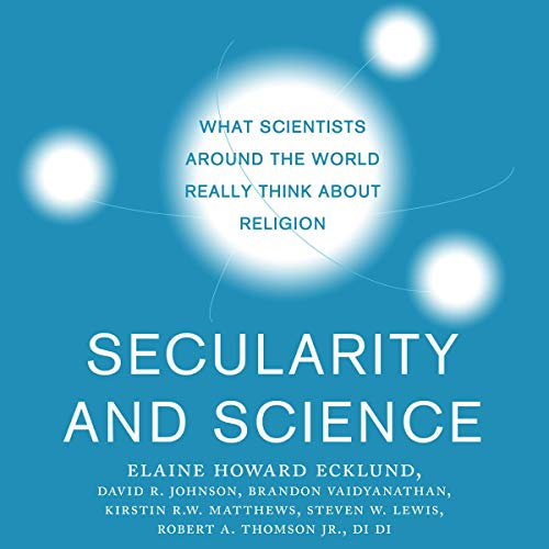 Secularity and Science cover art