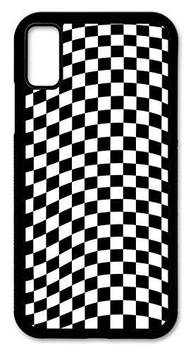Cell Phone Cover - Slim Fit - Compatible with Apple iPhone XR - Checkered Flag