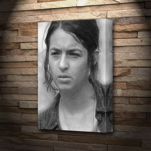 Seasons ALANNA MASTERSON - Canvas Print (A4 - Signed by the Artist) #js002