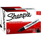 Sharpie 15001 Box of 12 Sharpie King Size Chisel Tip Permanent Markers