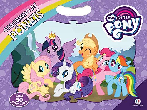 My Little Pony - Colorindo as ponêis