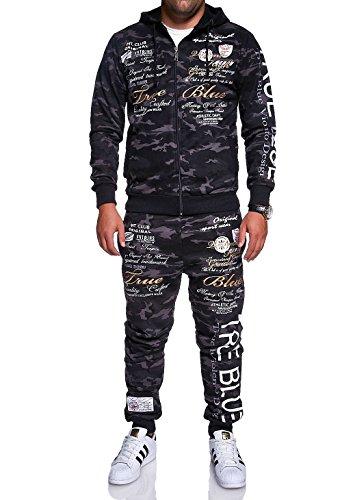 MT Styles Trainingsanzug True Grade Sportanzug Hose R-508 (S, Camouflage)