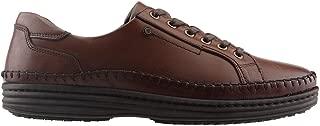 Komcero 9Y8910-F213 Günlük%100 Deri Rahat Konfor Erkek Ayakkabı Kahverengi