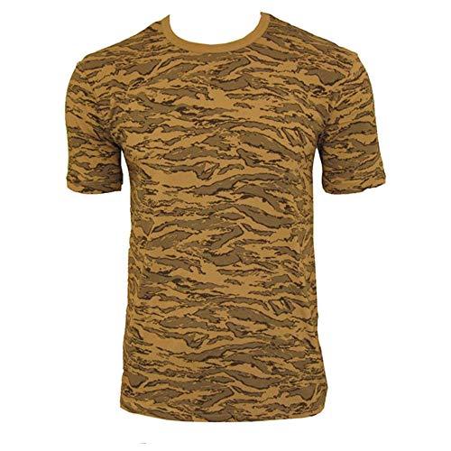 Tee Shirt Camo Camouflage Armee DE L'AIR AIR Force Desert COL Rond ET Manches Courtes Miltec 11010067-S Airsoft