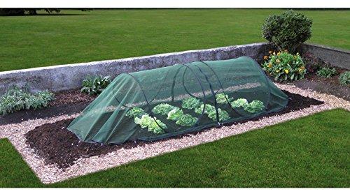 Universalschutznetz Pflanzenschutz Tunnel modular grün