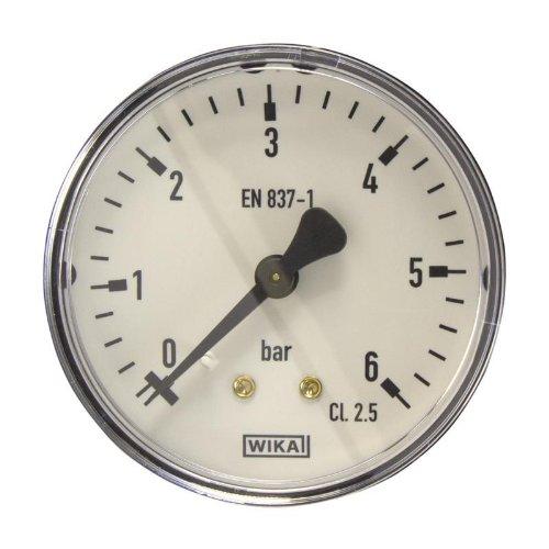 Manometer, NG63, 0-6 bar - WIKA 111.12 - 9083944
