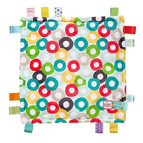 Bright Starts Little Taggies - Mantas de bebe (Multicolor, Estampado, Tela, 304,8 x 304,8 cm, Cualquier género, Lavado a máquina), Modelos surtidos, 1 unidad