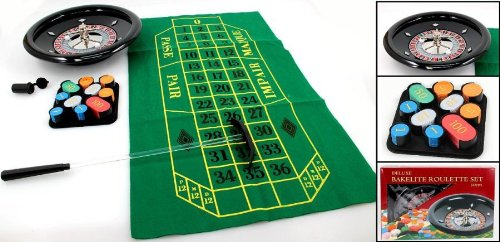 Roulette-Set Profi Bakkelith 30cm/12inch