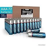Rayovac AAA Batteries, Alkaline Triple A Batteries (72 Battery...