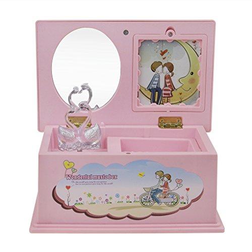 Boîte à Musique Romantique Ballerine Cadeau pour Enfant Creative Boîte à Musique Mécanique Souvenirs Cadeaux de Naissance pour Fille Jouet Enfants Boîte de Bijoux Enfants