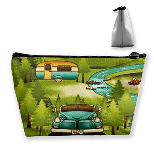 Trousse de toilette de voyage, sac de rasage, organiseur à suspendre robuste avec motif imprimé pour aventure en plein air, camping et accessoire de voyage